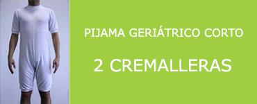 pijama geriatrico 2 cremalleras
